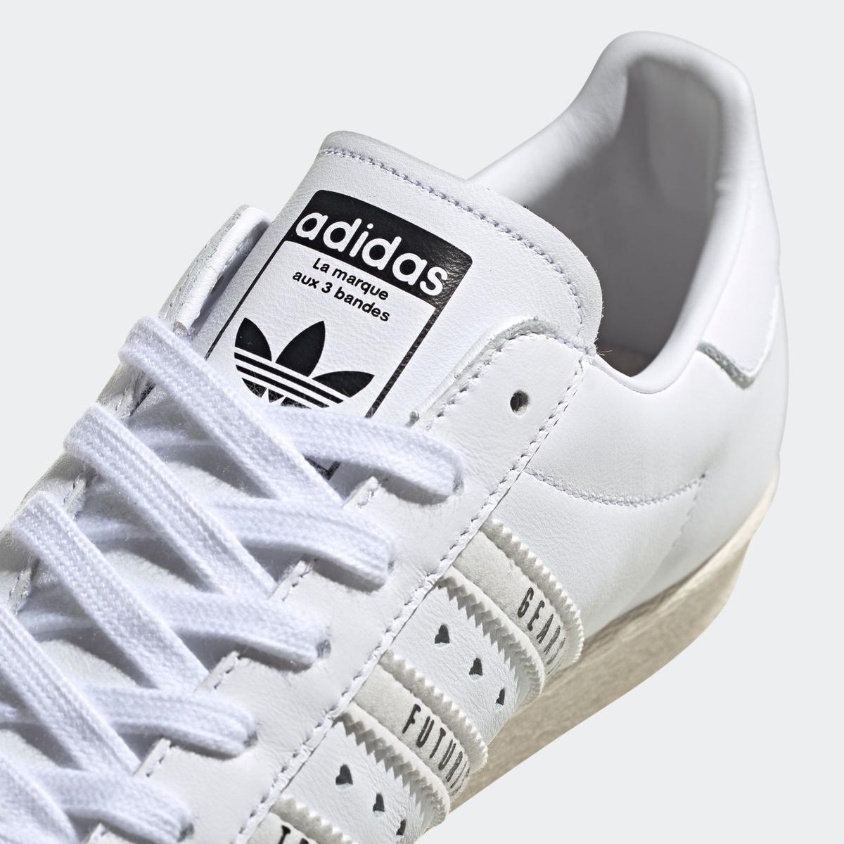ADIDAS ORIGINALS SUPERSTAR 80S HUMAN MADE FOOTWEAR WHITE アディダス オリジナルス スーパースター 80S ヒューマンメイド ホワイト FY0730