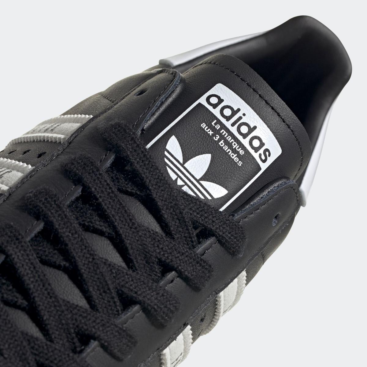 【国内4月24日発売】ADIDAS ORIGINALS SUPERSTAR 80S HUMAN MADE CORE BLACK/FOOTWEAR WHITE アディダス オリジナルス スーパースター 80S ヒューマンメイド ブラック/ホワイト FY0729