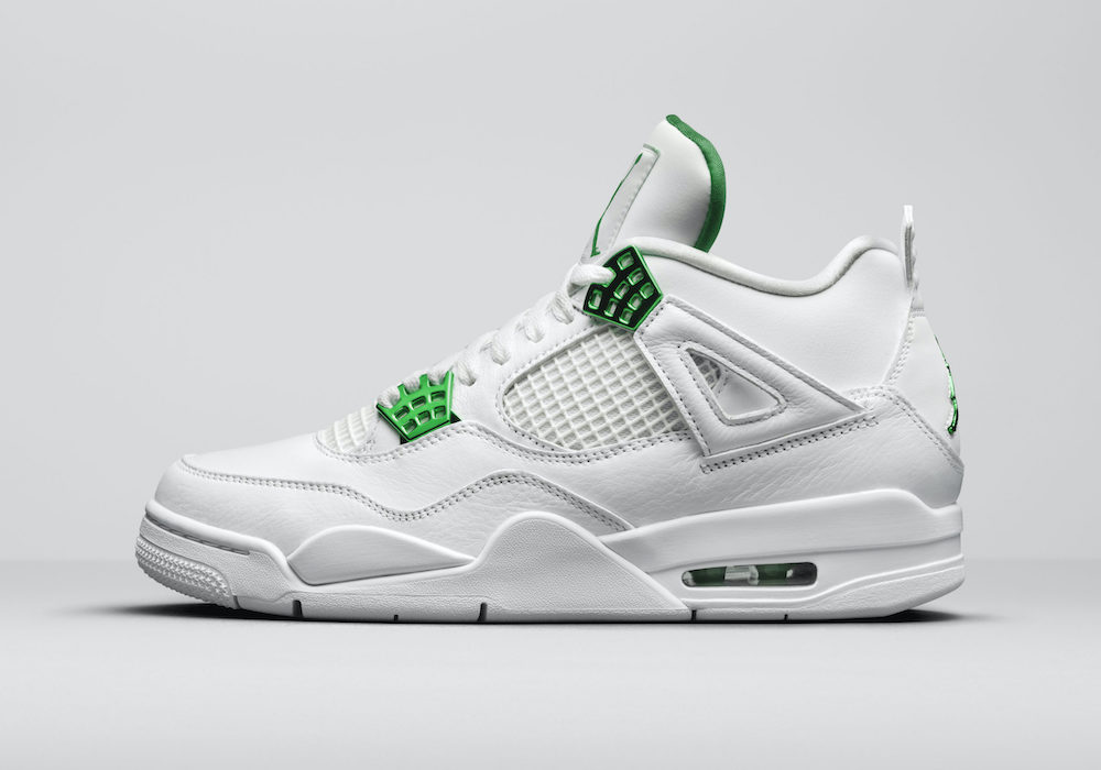 AIR JORDAN 4 GREEN METALLIC CT8527-113