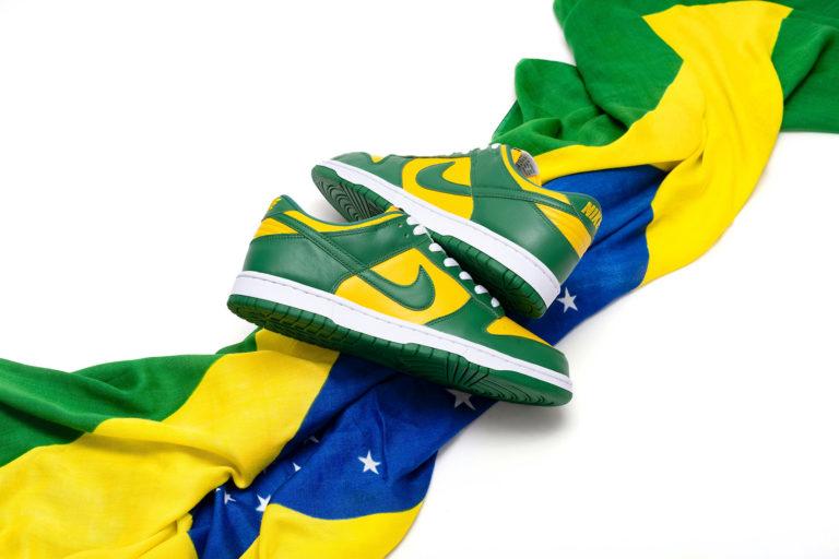 NIKE DUNK LOW SP BRAZIL VARSITY MAIZE/PINE GREEN ナイキ ダンクロー ブラジル バーシティ メイズ/パイングリーン CU1727-700