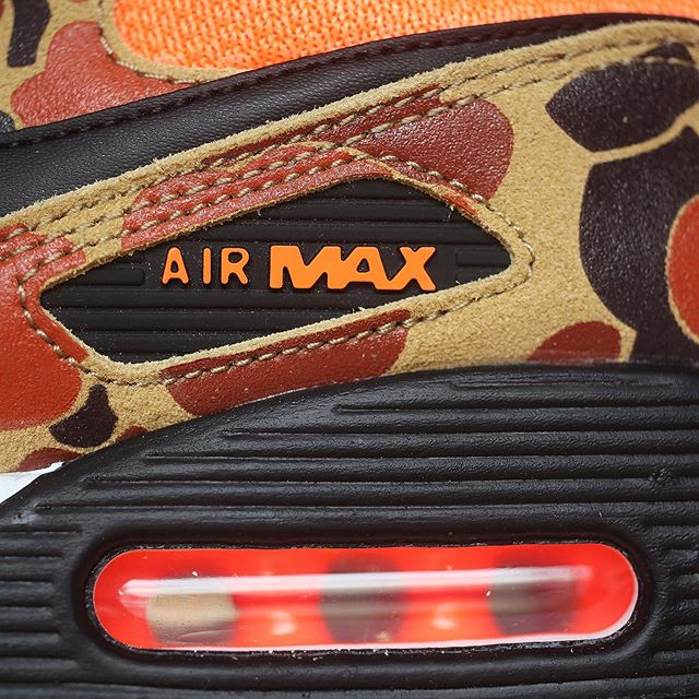 NIKE AIR MAX 90 ORANGE DUCK CAMO ナイキ エアマックス90 オレンジ ダックカモ CW4039-800