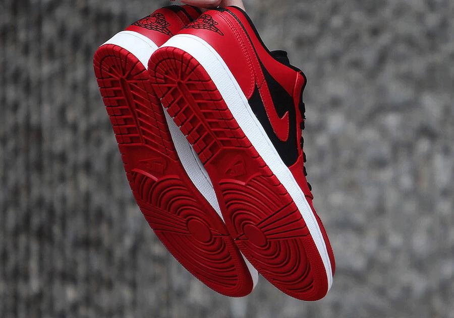 NIKE AIR JORDAN 1 LOW VARSITY RED ナイキ エアジョーダン1 ロー バーシティレッド 553558-606
