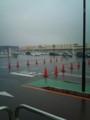 [風景] 雨のショッピングセンター