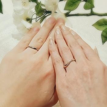 桜の結婚指輪マリッジリングSAKURA広島.jpg