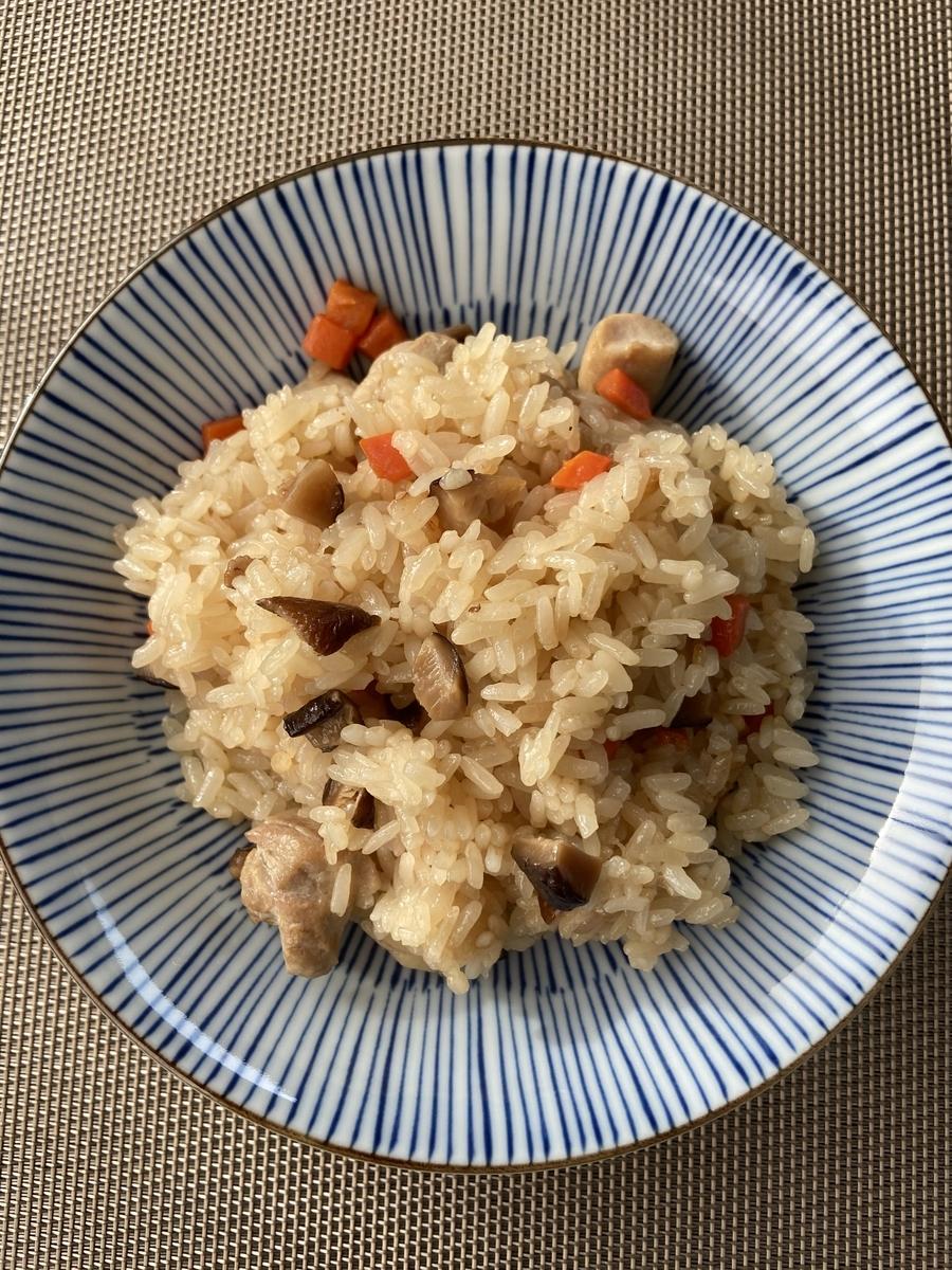 中華ちまき 炊飯器