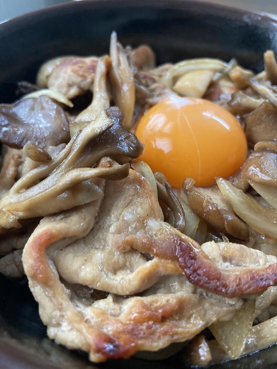 きのこ 豚丼 レシピ 北海道