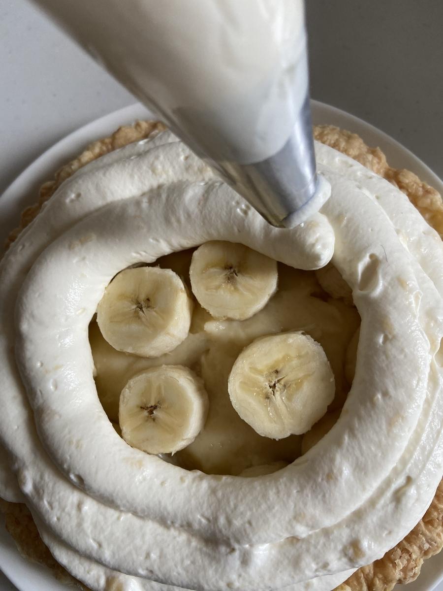 バナナカスタードパイ レシピ #おうち時間