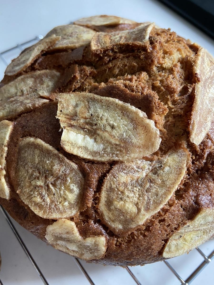 バナナチップ バナナ マフィン レシピ