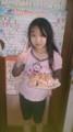 長女とケーキ