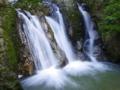 京都新聞写真コンテスト 三筋の滝