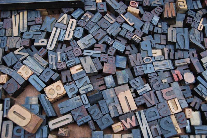 英数字ブロックの画像