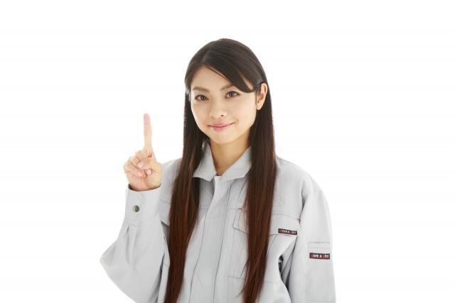 女性作業員の画像