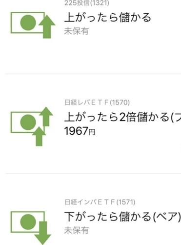 日本株ETFの画像