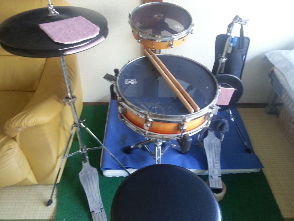 自宅用ドラム練習セット