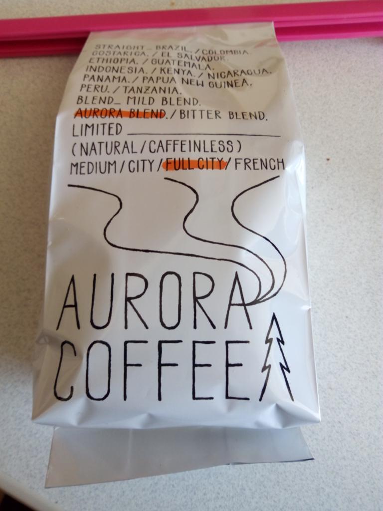 オーロラコーヒーパッケージ