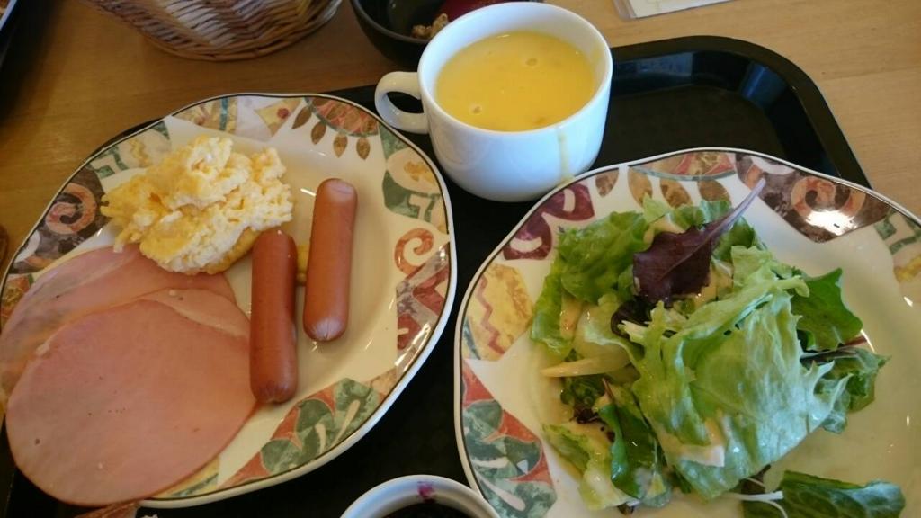 プレーゴ葉山の朝食