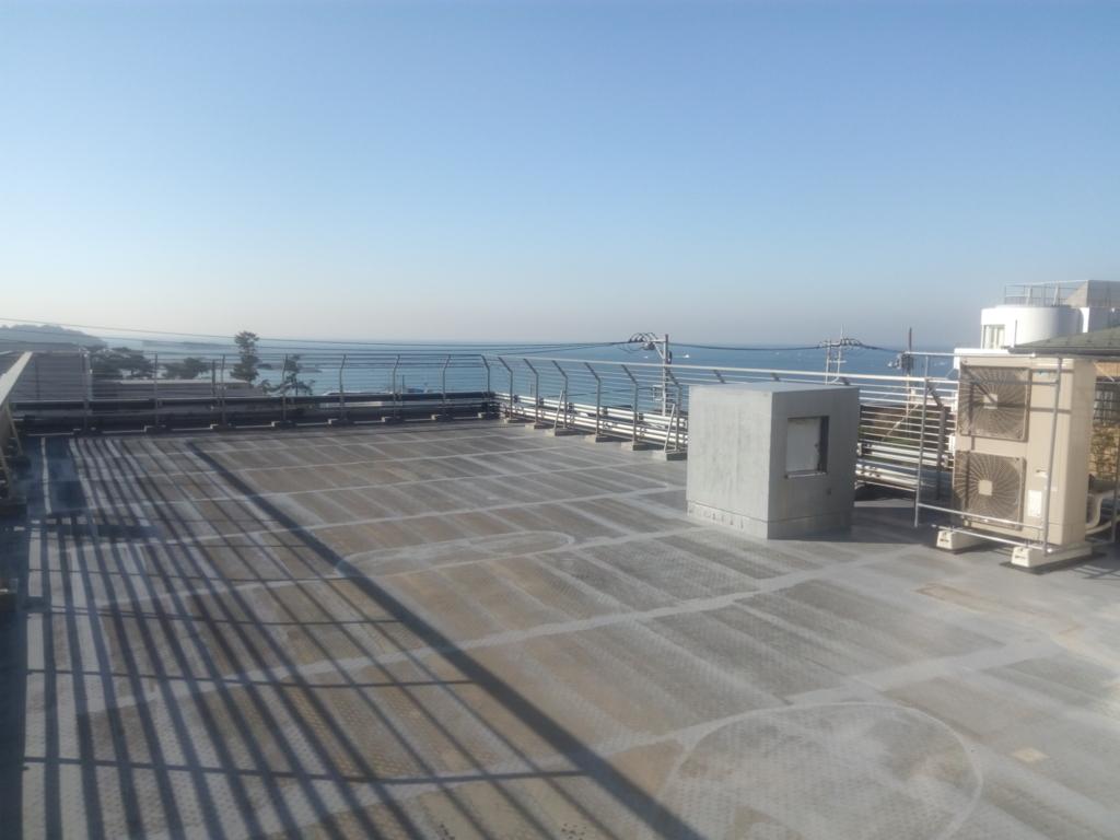 プレーゴ葉山の屋上テラスから眺め
