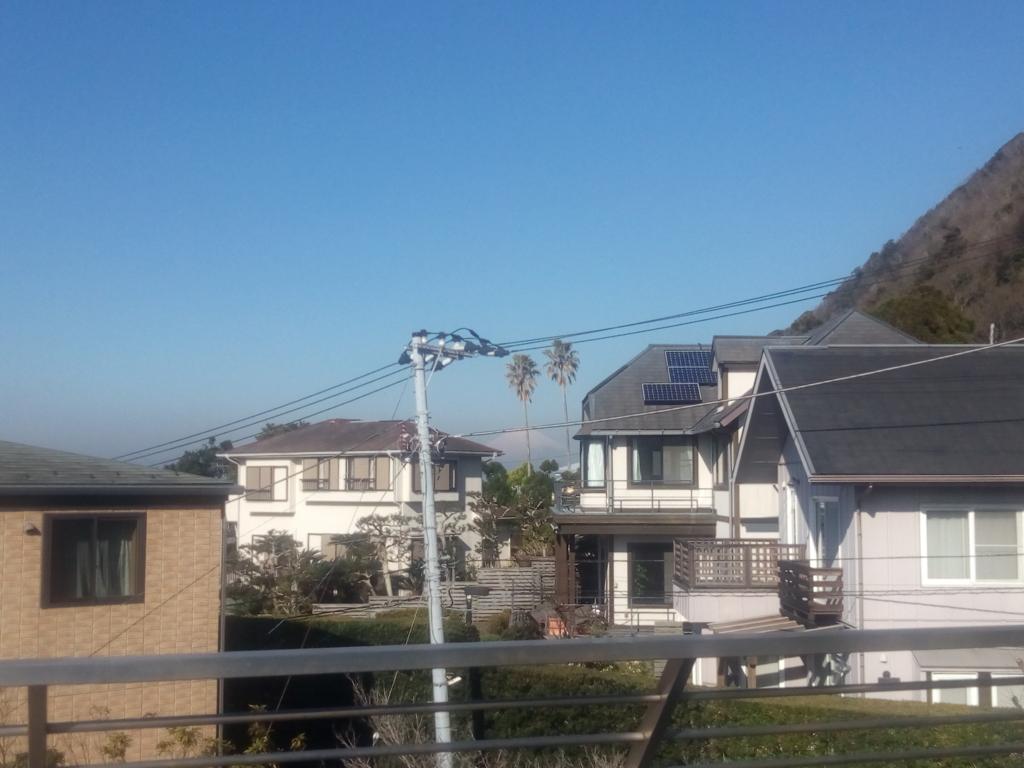 プレーゴ葉山から見える富士山