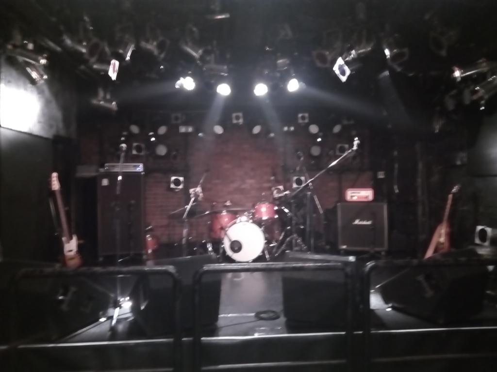 吉祥寺PLANET Kのステージ
