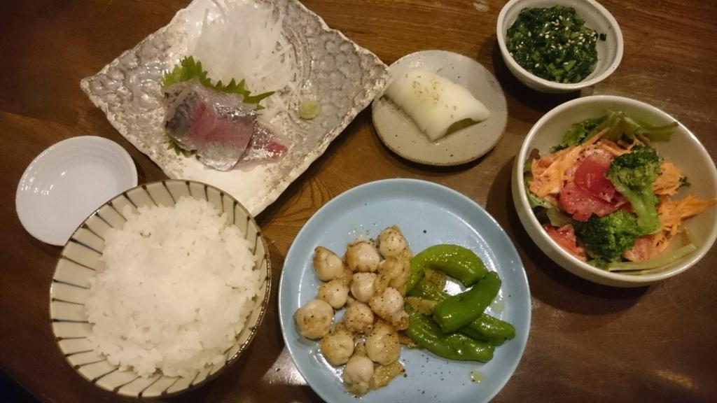 しへえどんの夕食