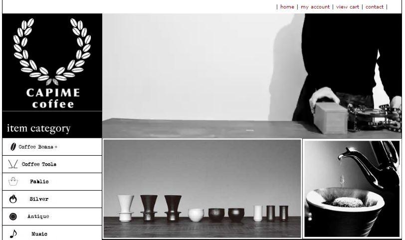 CAPIME coffee通販サイト