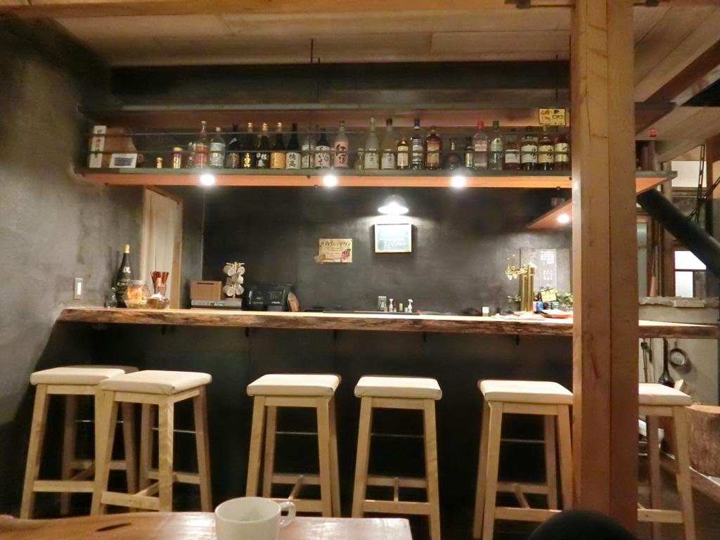 tabi-shiroのカウンターバー