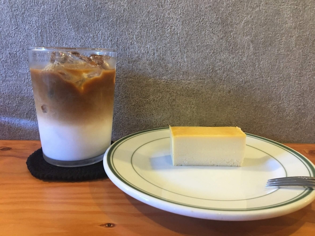 YAMADA COFFEEのチーズケーキ
