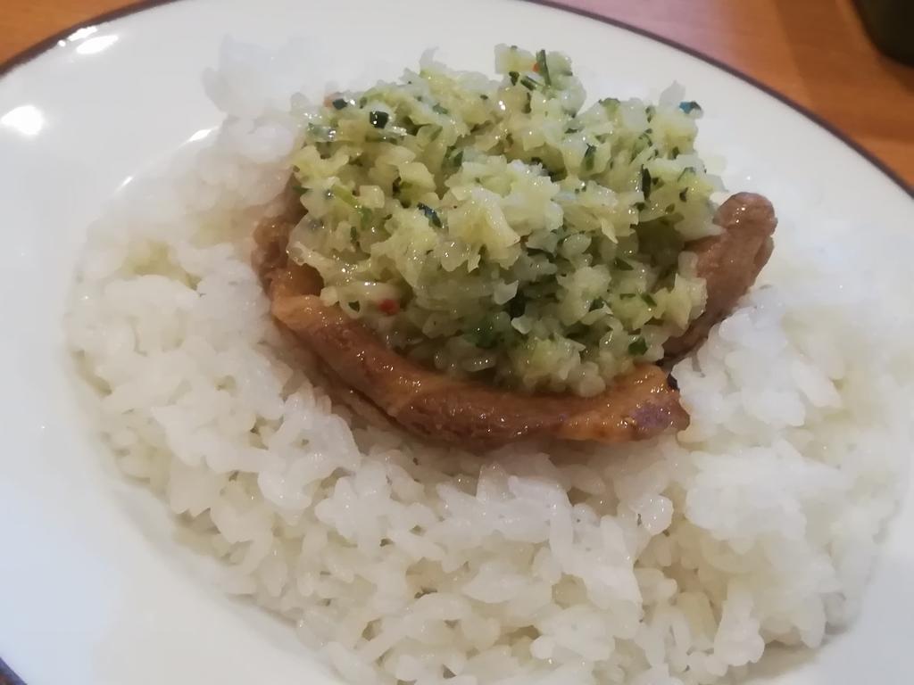 サイゼリヤのアレンジメニュー「ディアボラ焼肉丼」を食べる