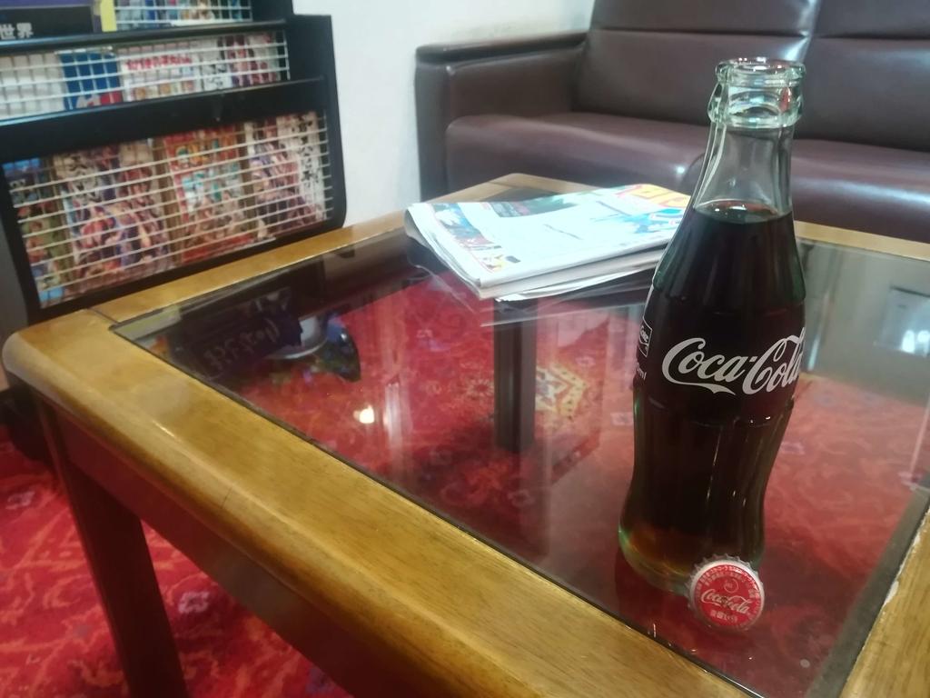 瓶のコカ・コーラ