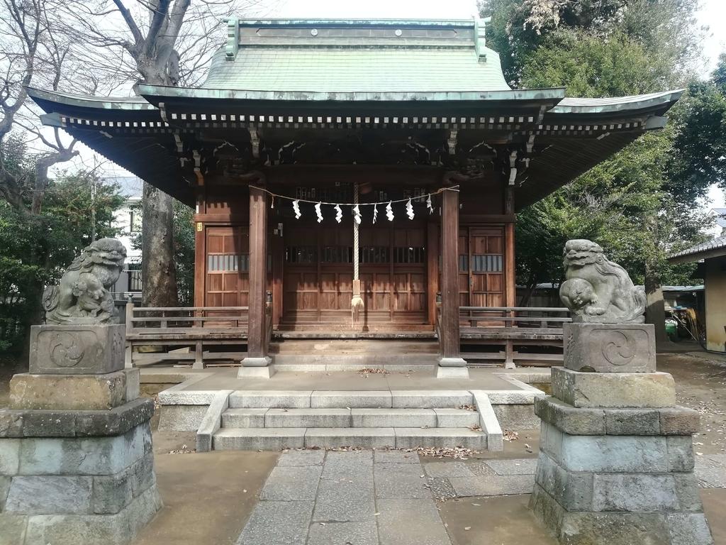 岩戸八幡神社の境内