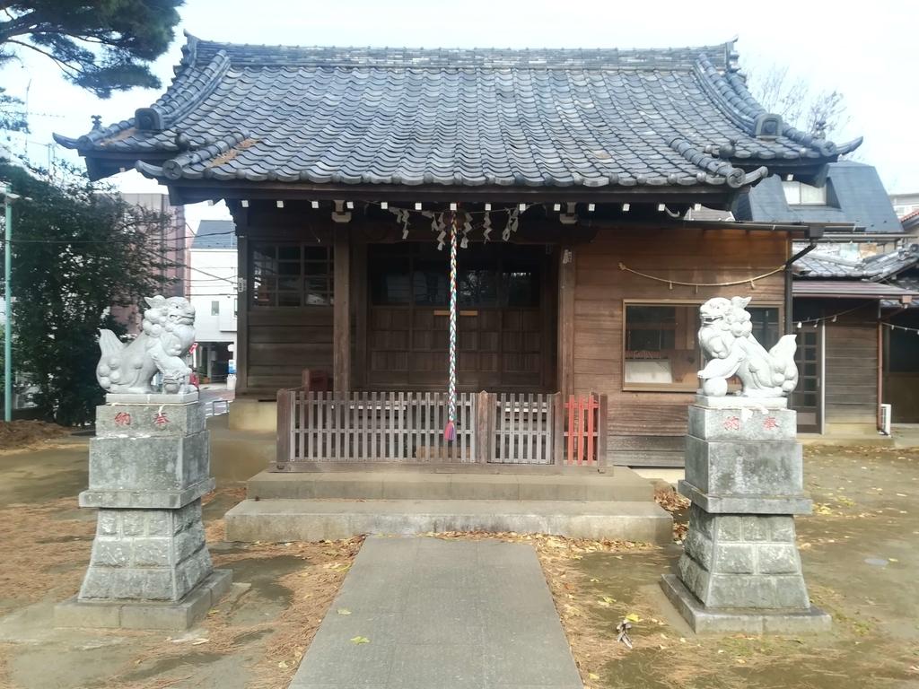 子ノ権現三島神社の境内