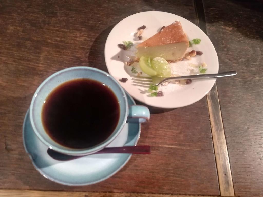 茶々の珈琲とケーキ