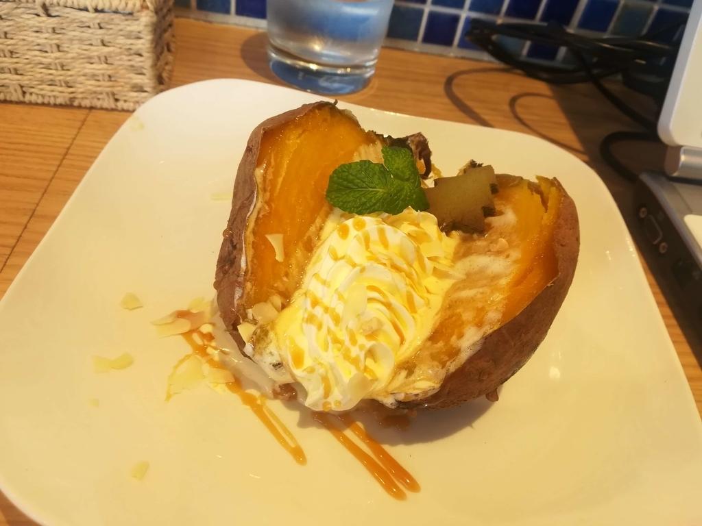 KomaeCafeの焼き芋