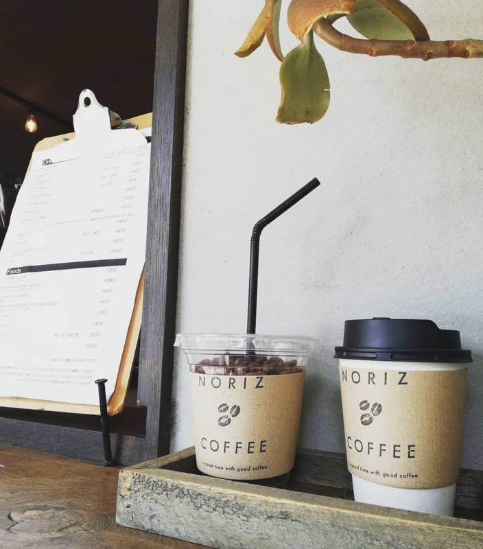 NORIZ COFFEEさんのテイクアウトカウンター