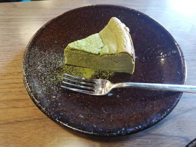 nico cafeの低糖質抹茶チーズケーキ