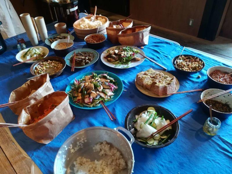 新しい日常料理 ふじわらさんの朝ごはんの会のメニュー