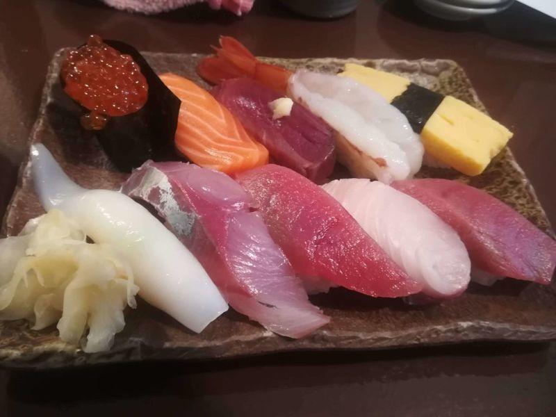 縁裕の寿司ランチ