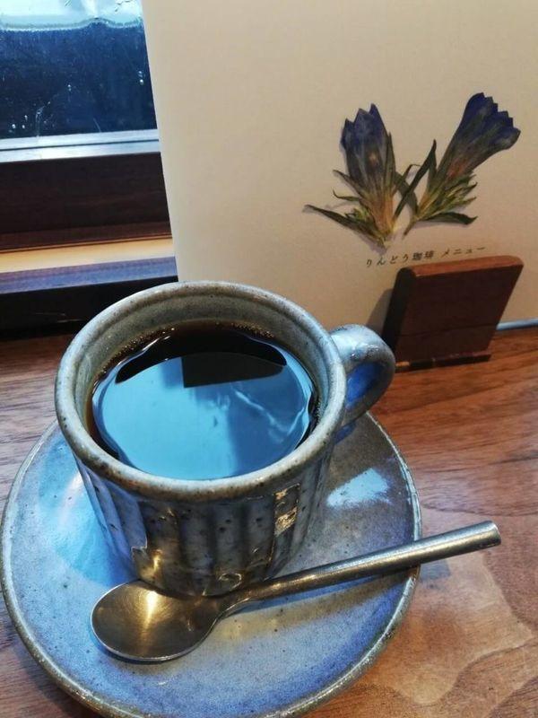 胡桃堂喫茶店のりんどう珈琲