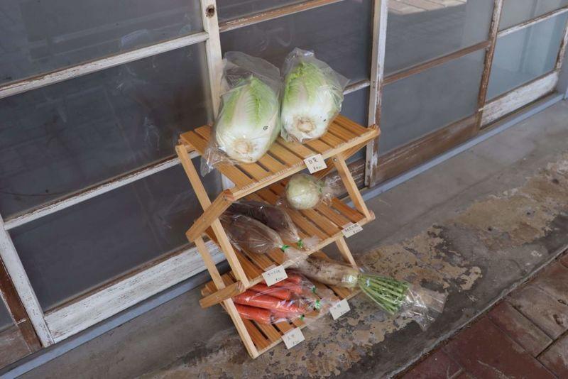 山本牛乳店で売っている野菜