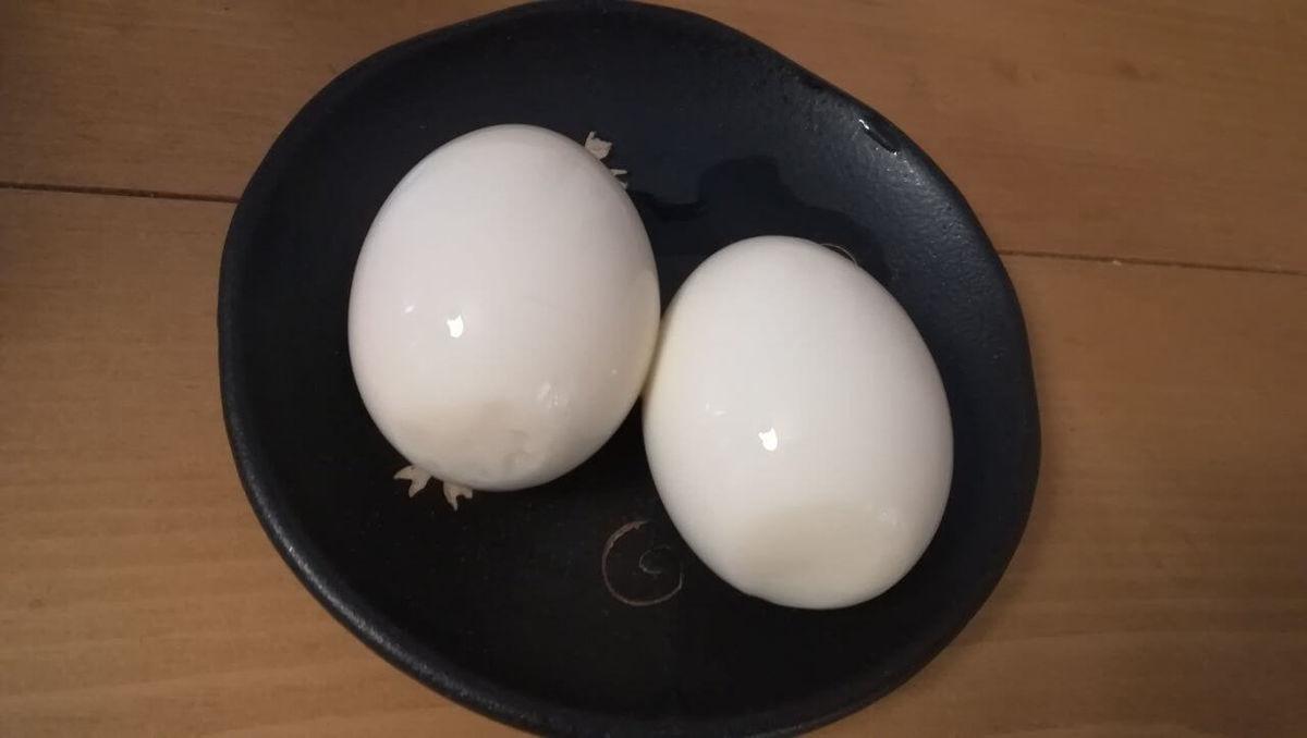 ミツカン「あごだしつゆ」で作った煮卵