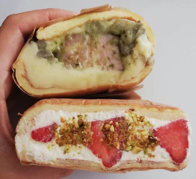 mocmo sandwichesのサンドウィッチ