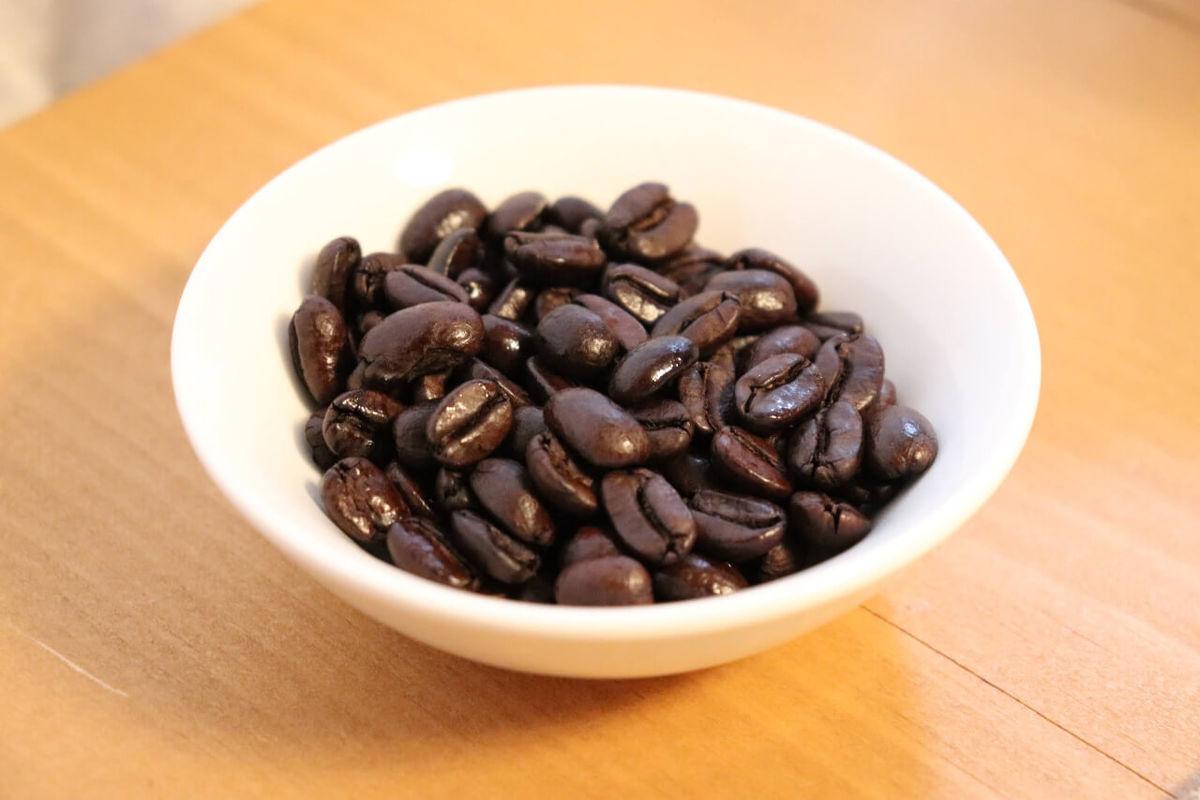フルシティローストのコーヒー豆