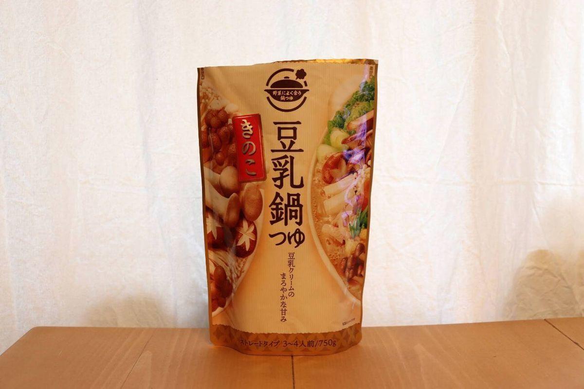 日本食研「豆乳鍋つゆ」