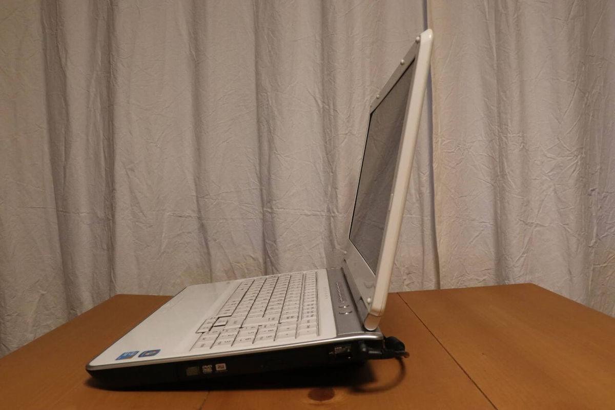 ノートパソコンスタンドの使用例
