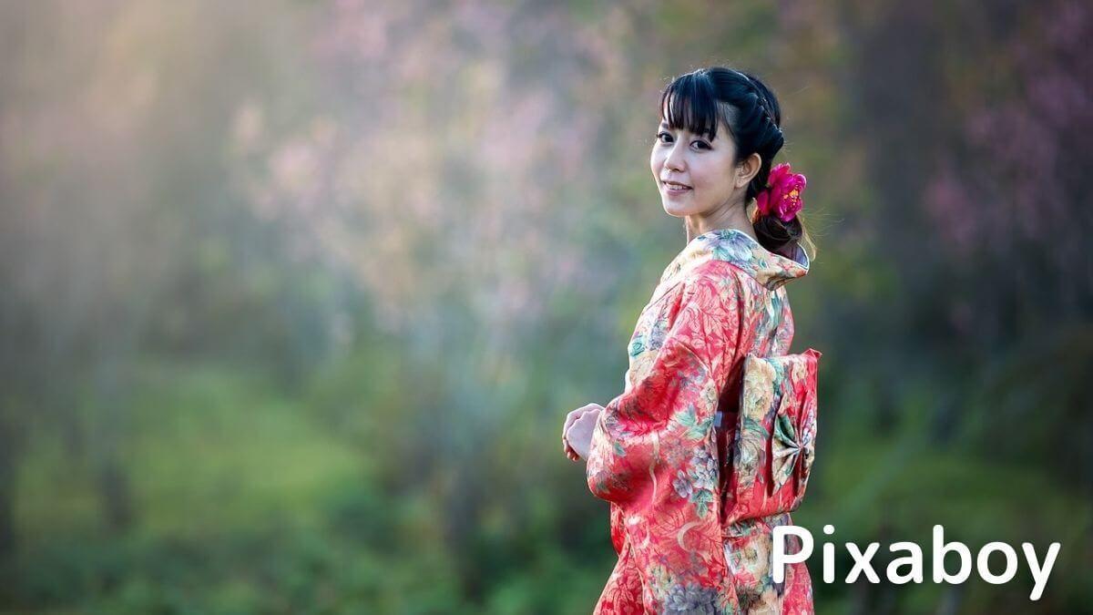 Pixaboyで使える人物写真の例