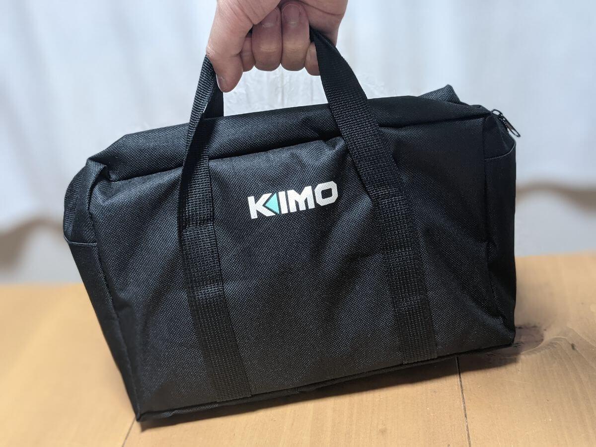 KIMOの電動ノコギリの収納バッグ