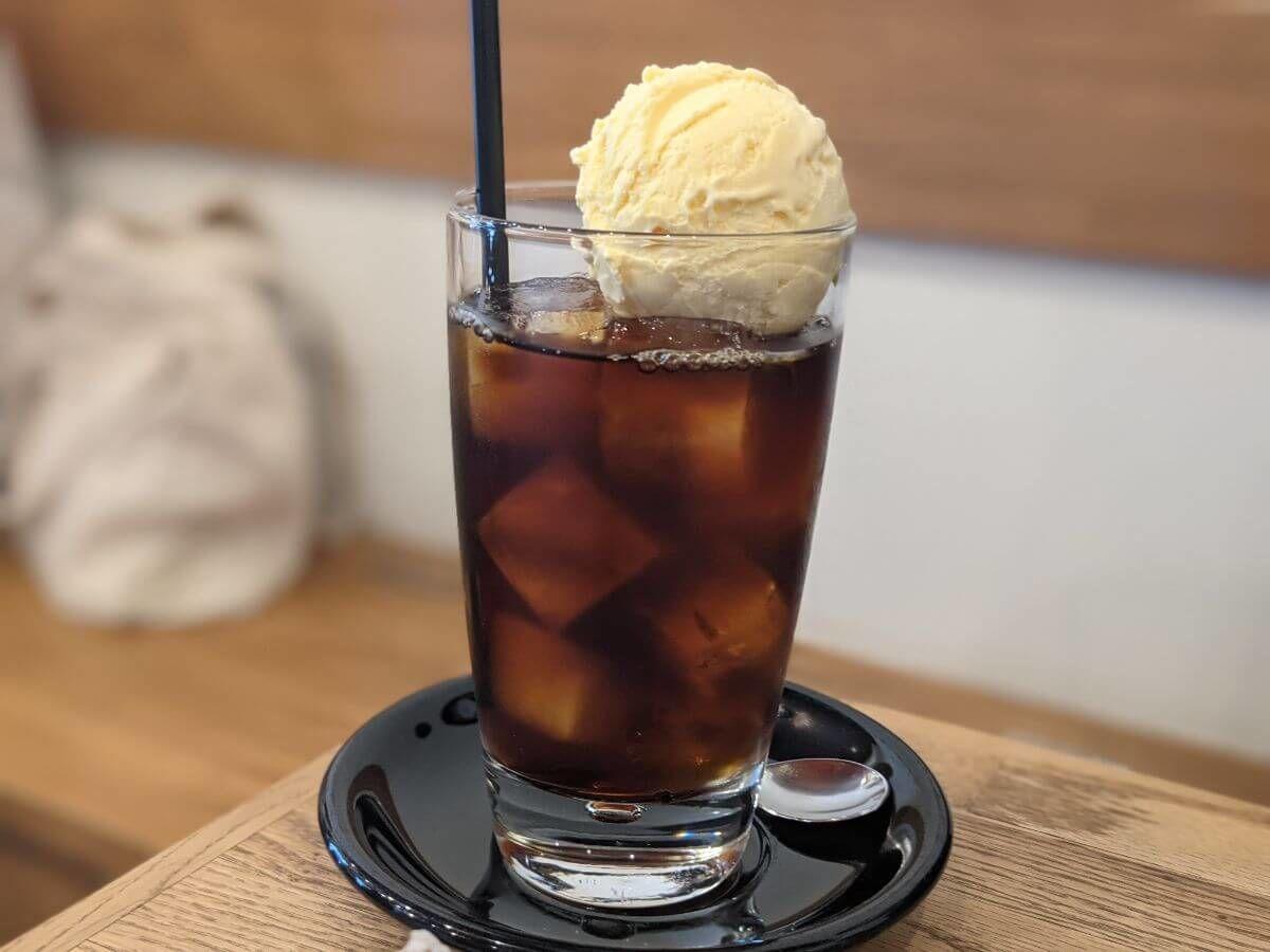 NORIZ COFFEEのコーヒーフロート