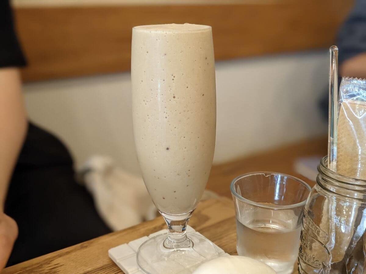 NORIZ COFFEEのエスプレッソバナナシェケラート