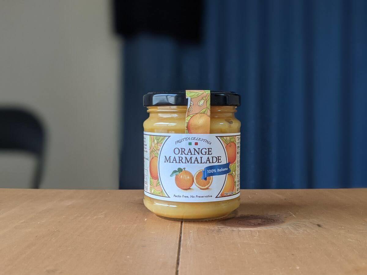 カルディで買ったオレンジマーマレード