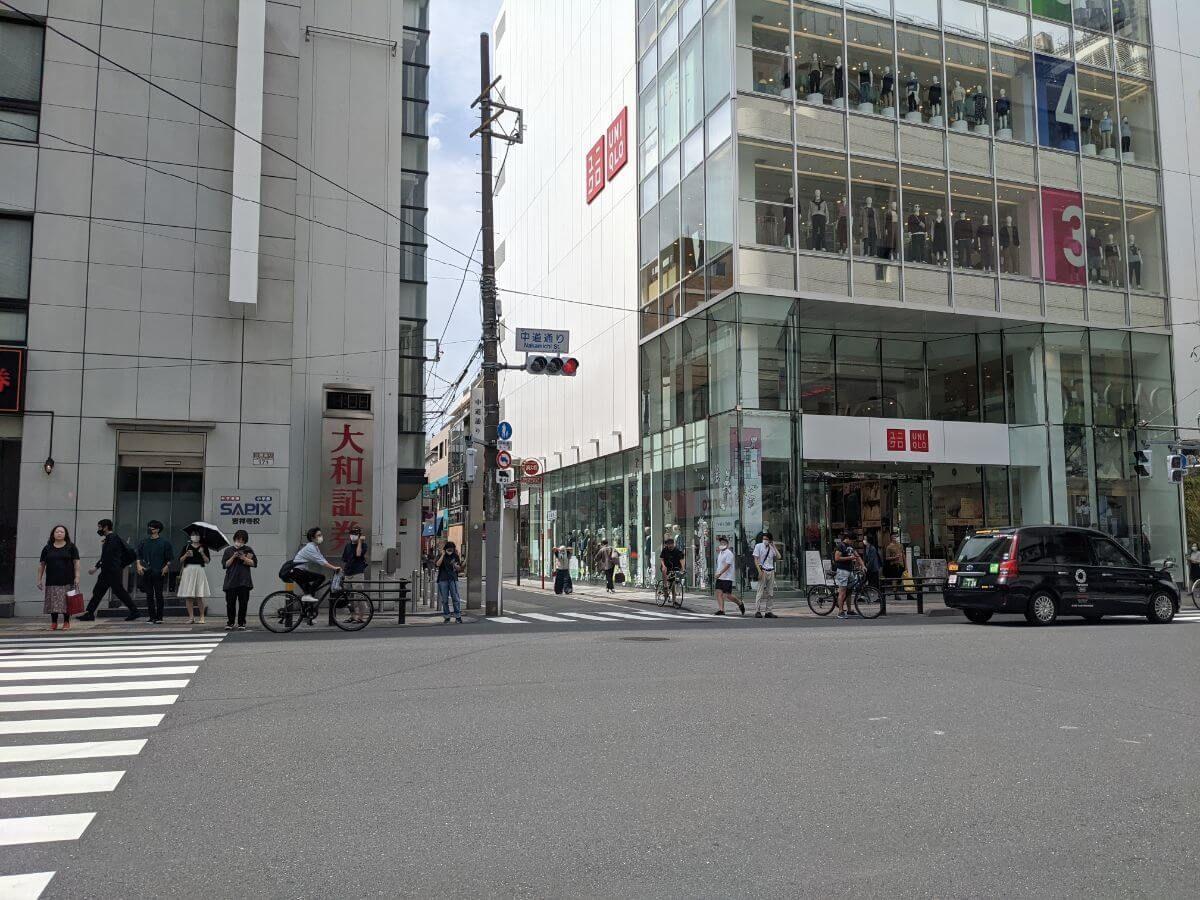 吉祥寺中道通りの入り口